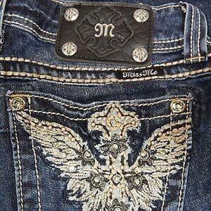Miss Me Jeans Women's SIZE 26 JP5896B2 Boot Cut